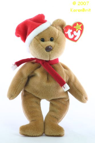 Ty Beanie Babies Bear - 1997 Teddy (Holiday) 19e61f725da