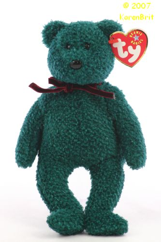 2001 Holiday Teddy