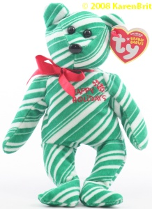 2007 Holiday Teddy (green)
