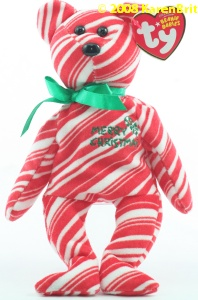 2007 Holiday Teddy (red)