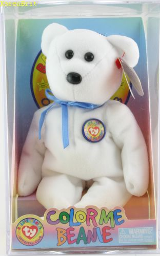 Color Me Beanie (bear)