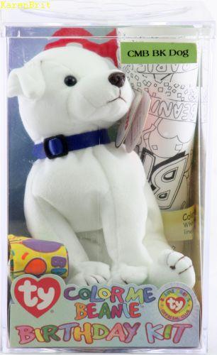Color Me Beanie Birthday Kit (dog)