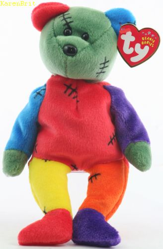 Frankenteddy (purple and red feet)