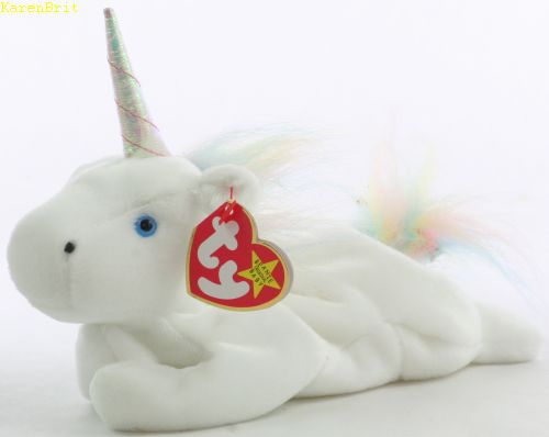 Mystic (iridescent horn, rainbow mane)