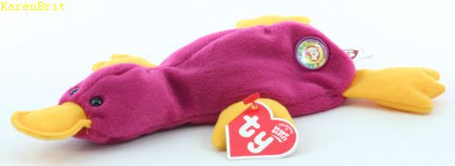 Ty Beanie Babies Patti Raspberry