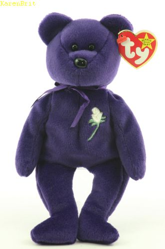 Ty Beanie Babies - Princess Diana Bear Worth