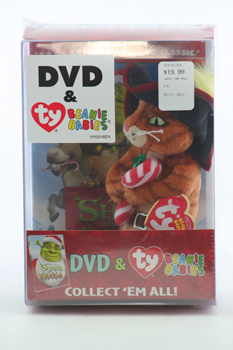 Puss In Boots (with Shrek the Halls DVD)