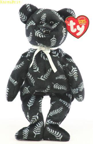 f959d2527eb Ty Beanie Babies - Silver (bear)
