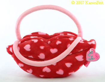 Smooches (purse) (dark pink)