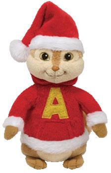 Alvin (Santa, red)