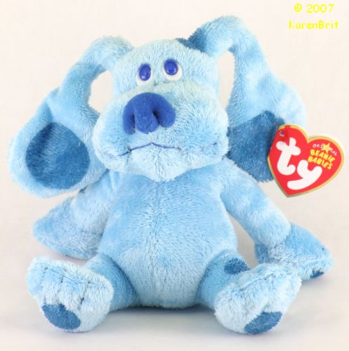 Ty Beanie Babies Blue Blues Clues Dog
