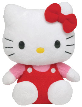 Hello Kitty (red overalls)