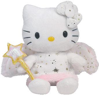 Gold Angel Hello Kitty