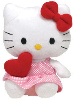 Hello Kitty (red heart, 2010 version)