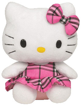 Hello Kitty (Tartan plaid)