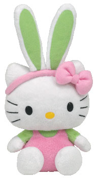 Hello Kitty (Easter, green ears)