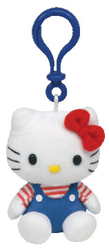 Hello Kitty Strawberry Key-clip