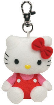 Hello Kitty (red jumper) UK Key-clip