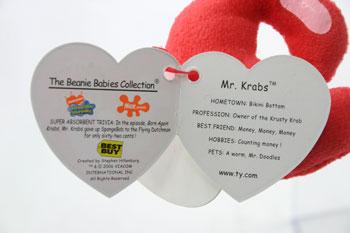 Mr. Krabs (Best Buy tag)