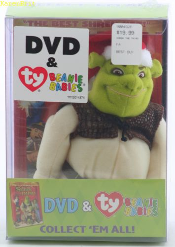 Shrek (with Shrek the Third DVD)