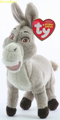 Donkey (with Shrek the Third DVD)