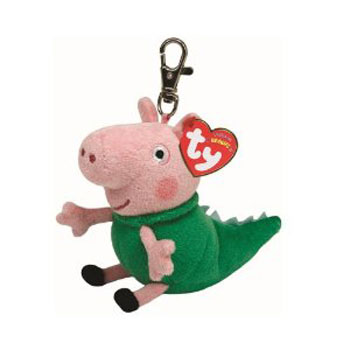George (dinosaur) Key-clip