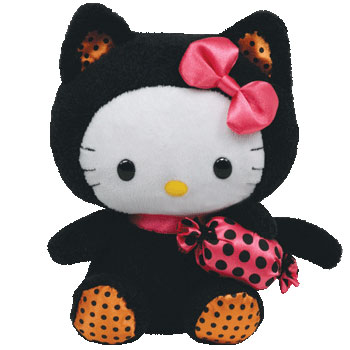 Hello Kitty (Halloween black cat)