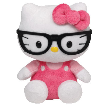 Hello Kitty (glasses, black)