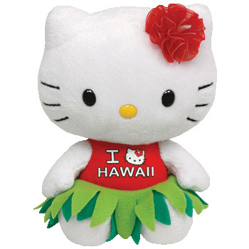 Hello Kitty (I Love Hawaii)