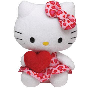 Hello Kitty (red heart, 2012 version)
