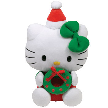 Hello Kitty (Christmas wreath)