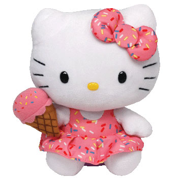 Hello Kitty (ice cream cone)