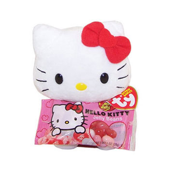 Hello Kitty (Jelly Belly plain red bow)