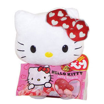 Hello Kitty (Jelly Belly white/red bow)
