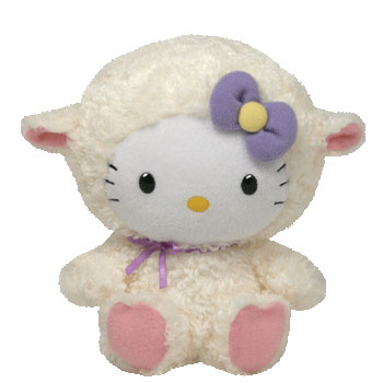 Hello Kitty (lamb suit)