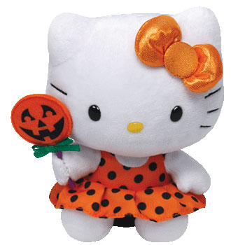 Hello Kitty (pumpkin lollipop)