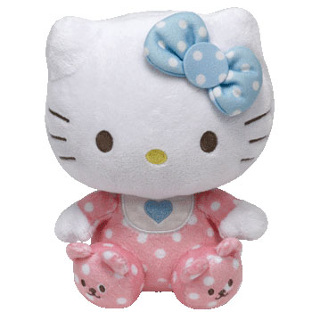 Hello Kitty (baby with rattle)