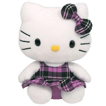 Hello Kitty (purple tartan)