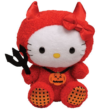 Hello Kitty (Halloween red devil)