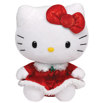 Hello Kitty (Christmas dress, 2013)
