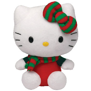 Hello Kitty (Christmas scarf)