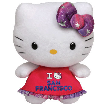 Hello Kitty (I Love San Francisco)
