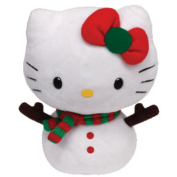 Hello Kitty (snowgirl)