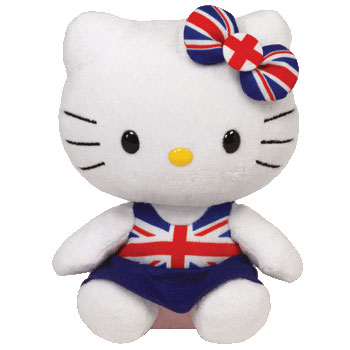 Hello Kitty (Union Jack dress)