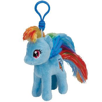 Rainbow Dash Key-clip