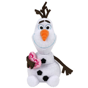 Olaf (pink heart)