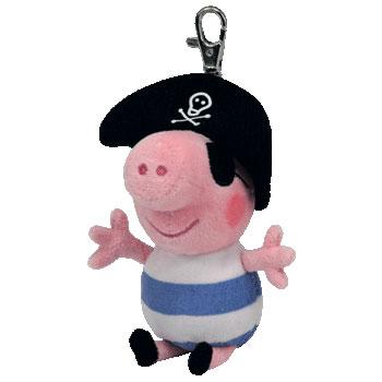 Ty Beanie Babies Pirate Key-clip Beanie Baby