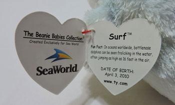 9a515b3ad5e Ty Beanie Babies - Surf