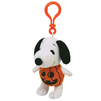 Snoopy Pumpkin Key-clip