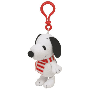 Snoopy Winter Key-clip
